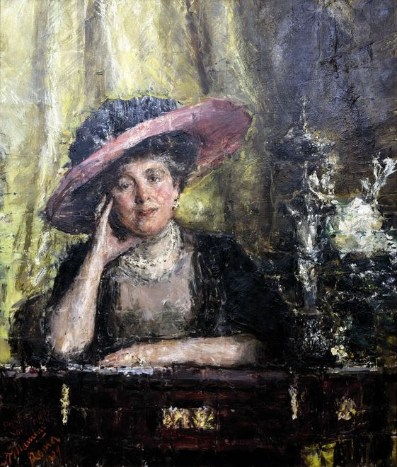 0 Antonio Mancini. Lady Phillips uaumag