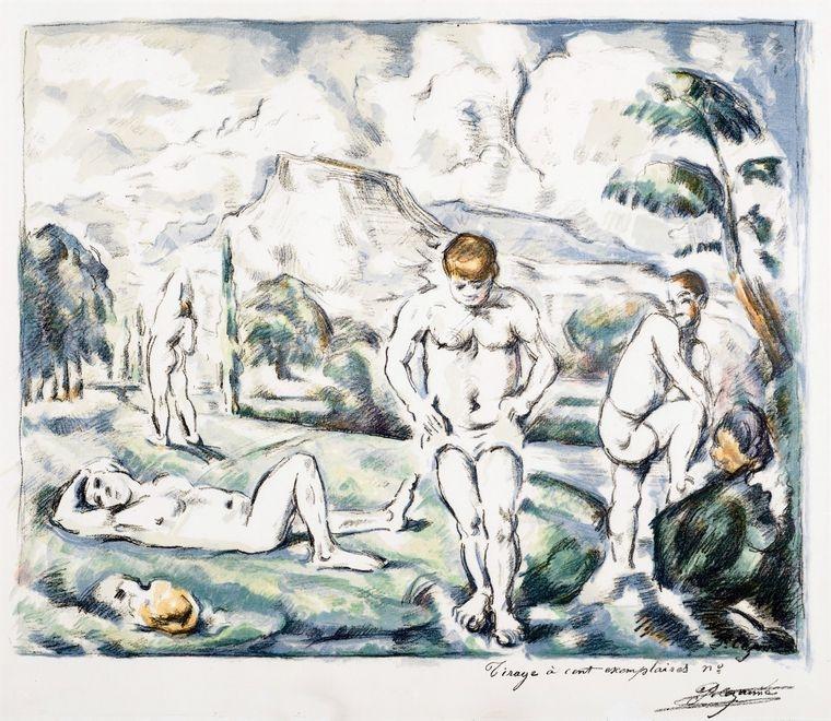 1 Paul Cezanne. I bagnanti uaumag