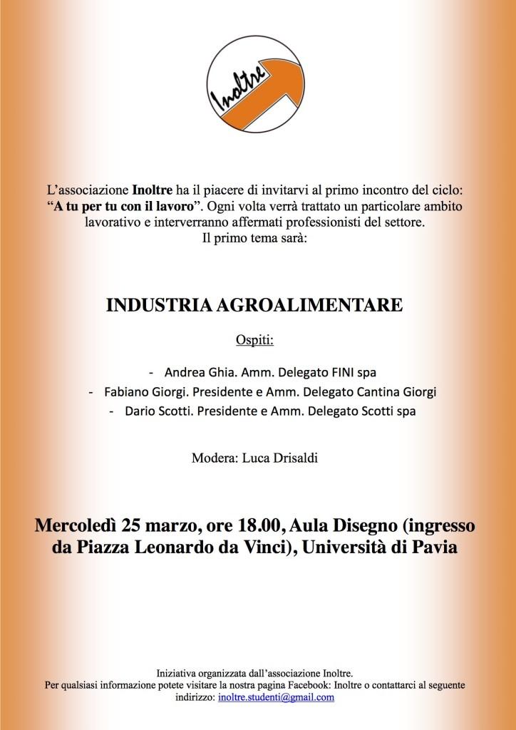 Manifesto  agroalimentare